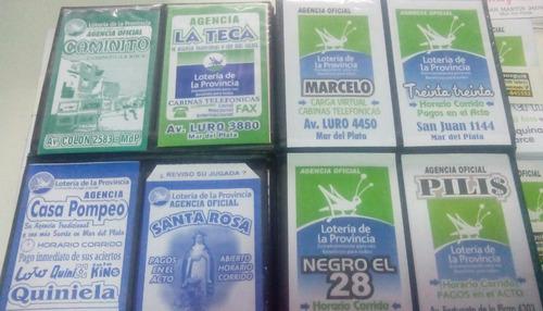500 sobres bolsas para agencias quiniela con su publicidad
