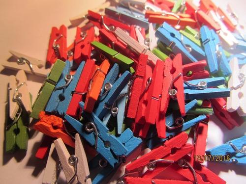 500 super mini broches mix colores 25 mm  !! 2.5 cm !!