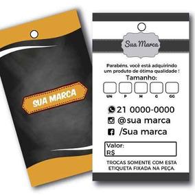 2873def59 Etiqueta Personalizada Tag De Preço Loja Roupa Confecção - Agro ...