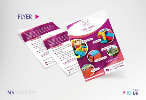 5000 flyers 10 x 15, folletos doble faz - full color