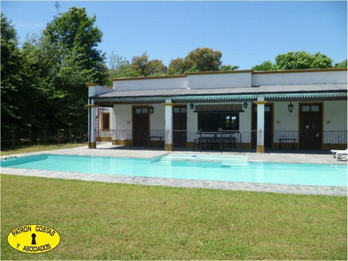 5000 m2 con casa colonial en  la cañada polo club