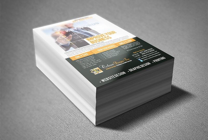 5000 panfletos color 20x14cm 4x0 couche 80g super preço r 299