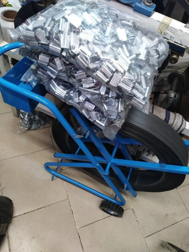 5000 pzas grapa sello punteada para fleje de plastico