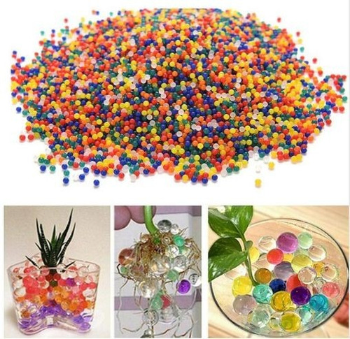 5000 unids/bolsa perla  forma de cristal gel bio hidrogel