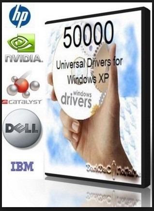 50,000 universal drivers para windows xp y vista