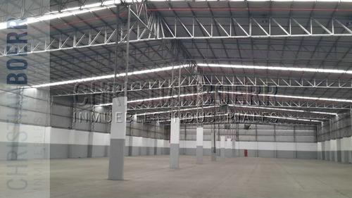 5.000m logísticos - parque ind pilar - docks de carga, sprin