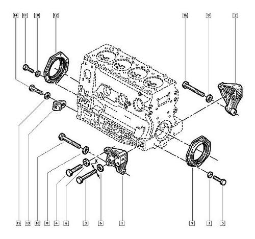 5001865740 reten distr renault master motor s8u s9w iveco