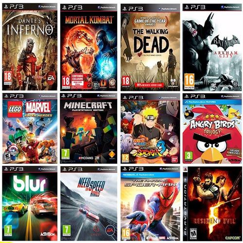 500gb juegos playstation