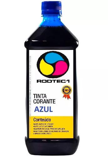 500ml tinta corante universal para todas impressoras azul