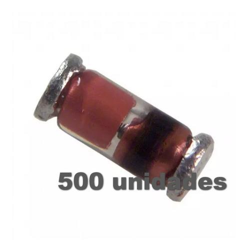 500pc diodo de sinal 1n4148 in4148 ll4148 smd mini melf 1206