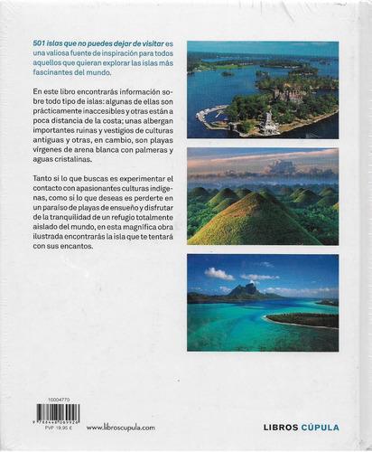 501 islas que no puedes dejar de visitar, editorial cupula