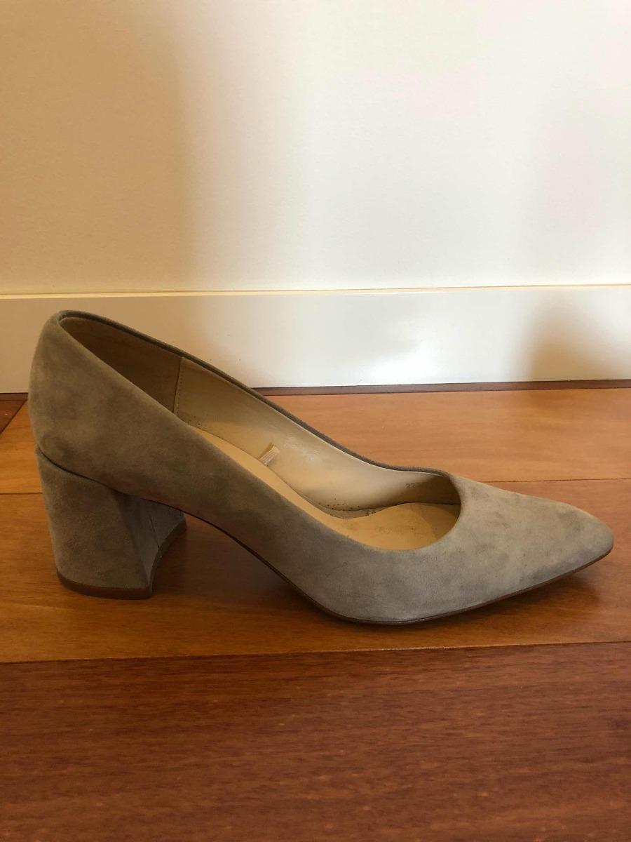 el más nuevo 5fd29 e9d49 503. Zapatos Tacon Gamuza Gris Zara Talla 37 Usado - S/ 40,00
