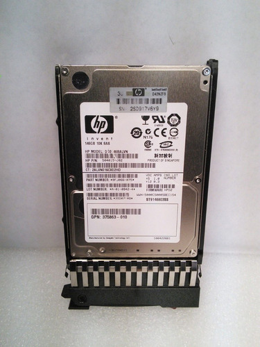 504015-002 hp 146-gb 3g 10k 2.5 dp sas hdd servidor spare