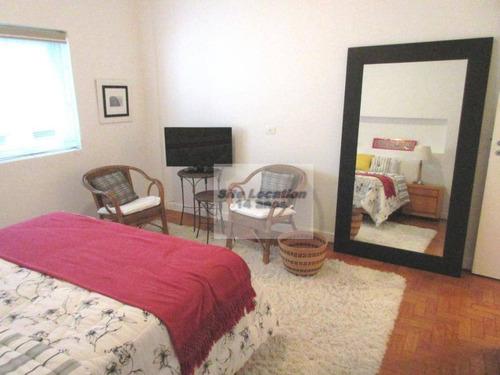 50446-72681  * 185m² com 3 dorm. sendo 1 suite no jardins - ap1205