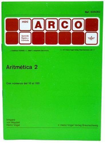 505062 cuaderno aritmética 2 2o grado método arco eduke