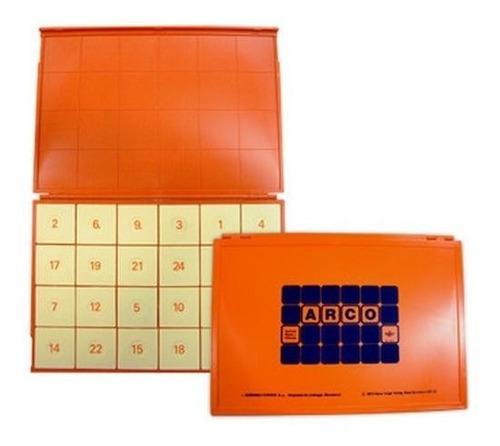 508010 estuche de control 24 fichas para sistema arco eduke