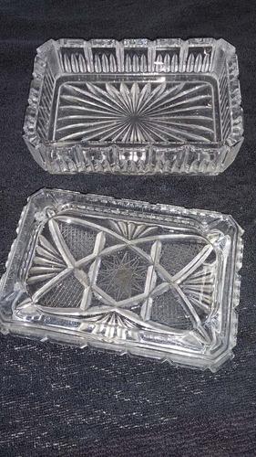 50$cigarrera cristal de bohemia