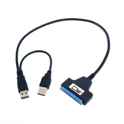 50cm usb 3.0 a sata 22pin cable para controlador de disco du