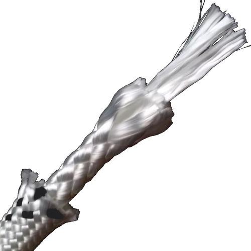 50.m cuerda soga cabo poliester 11mm seguridad certificada - material virgen alta tenacidad trenzado diamante. filtro uv