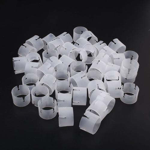 50pc balón arco conectores clip anillo hebilla globo kits, p