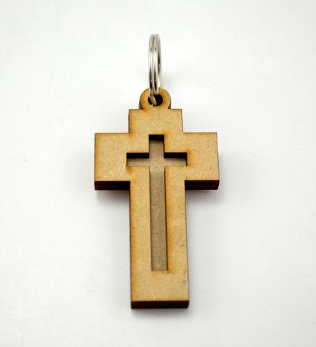 50pzs llavero de cruz recuerdo primera comunión,  art99a6