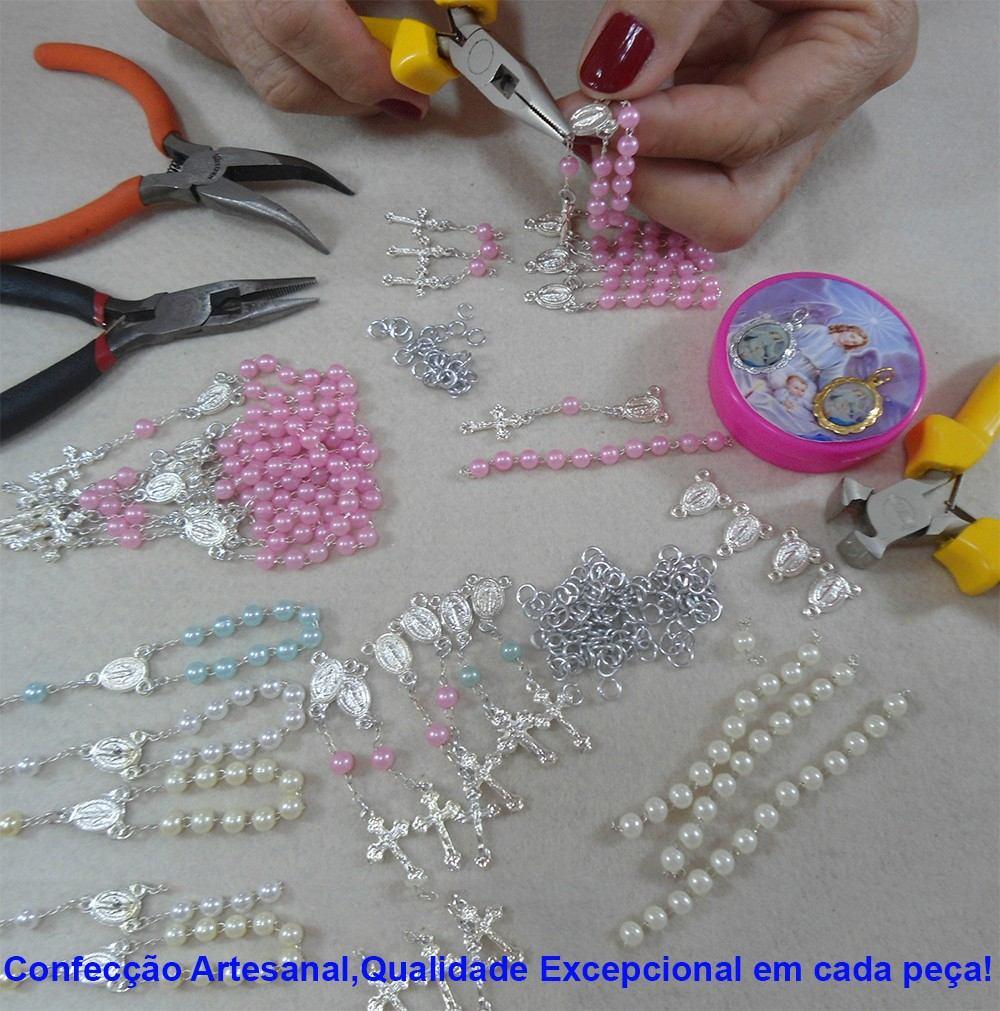 Caixa Anjo com mini terço no Elo7 | BELLA ARTE_PERSONALIZADOS (6861C9)
