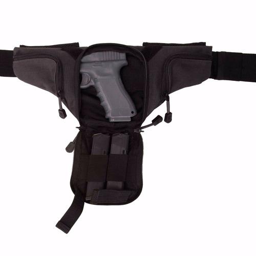 5.11 cangurera tactica con funda arma. select carry pistol