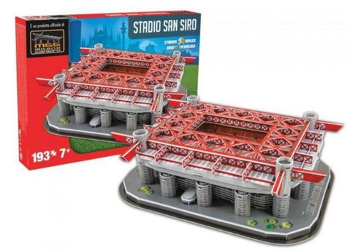 5127 estadio san siro milan rompecabezas 193 piezas nanostad