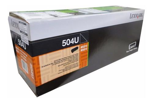 51b4000 toner negro lexmark ms/mx 317, 417, 517, 617