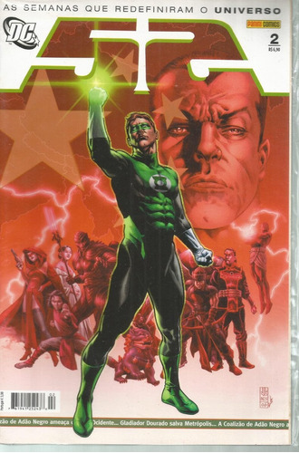 52 02 lanterna verde hal jordan adão negro dc comics