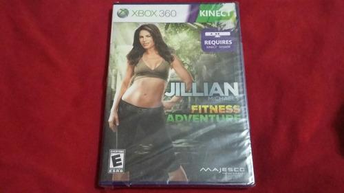 #52 jillian michaels fitness adventures kinect 360 nuevo