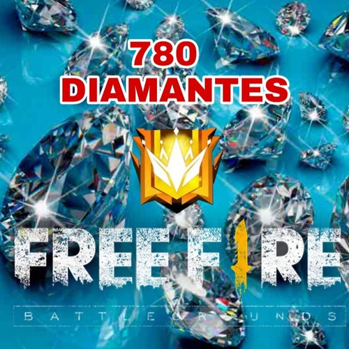 520 diamantes free fire + 260 de bonus