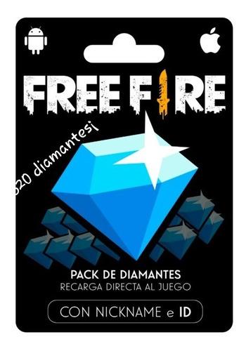 520 Diamantes Free Fire Battlegrounds Al Instante 24hs