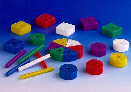 523 formas geométricas 4 diferentes plástico 24 piezas pigo