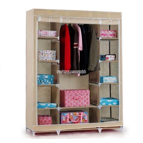 53 Por Dormitorio Muebles Ropa Armario Armario... (beige ...