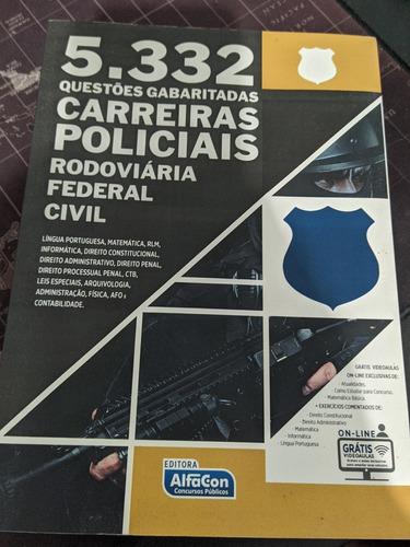 5332 questões carreiras policiais alfacon