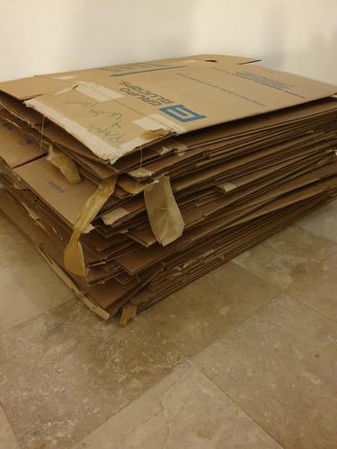 54 cajas de mudanza de uso rudo grandes + 10 extra medianas