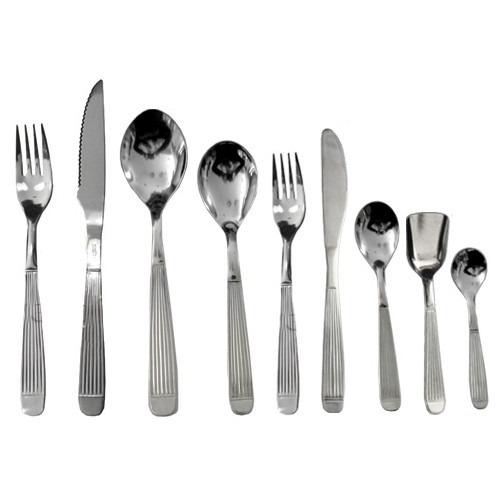 54 cubiertos carol acero inoxidable cuchillo tenedor granel