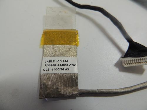 54 - flat da tela notebook premium 3096 pn: 45r-a14001-0202