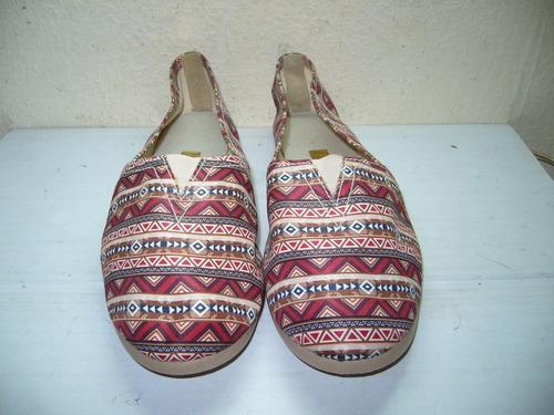 54 x - sapatilha estampa ètnica  n 39 moleca -