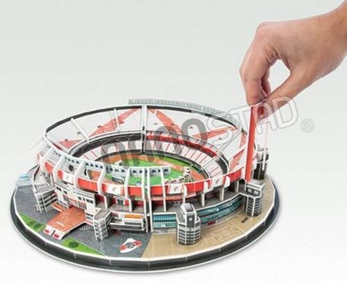 54001 estadio 3d monumental river plate 143 piezas nanostad