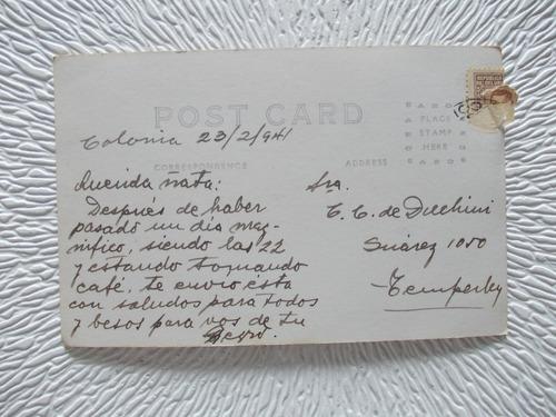 5422- postal antigua colonia  sur  r. o. u. colec. kiosco