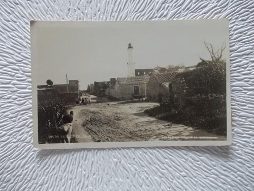 5422-postal antigua colonia  sur  r. o. u. colec. kiosco1941