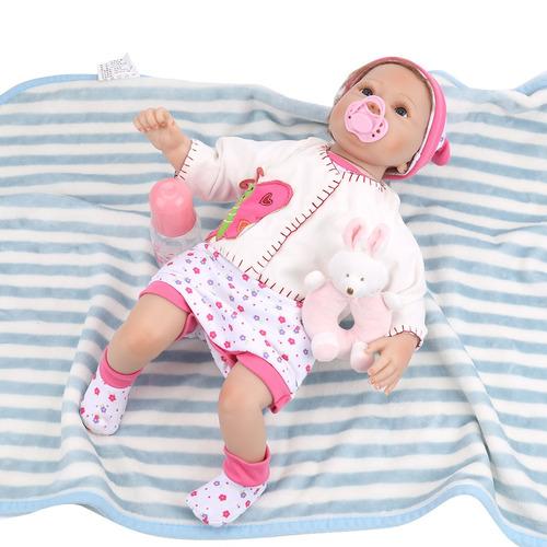 55 cm  muñeca reborn brinquedos muñeca realista para niñas
