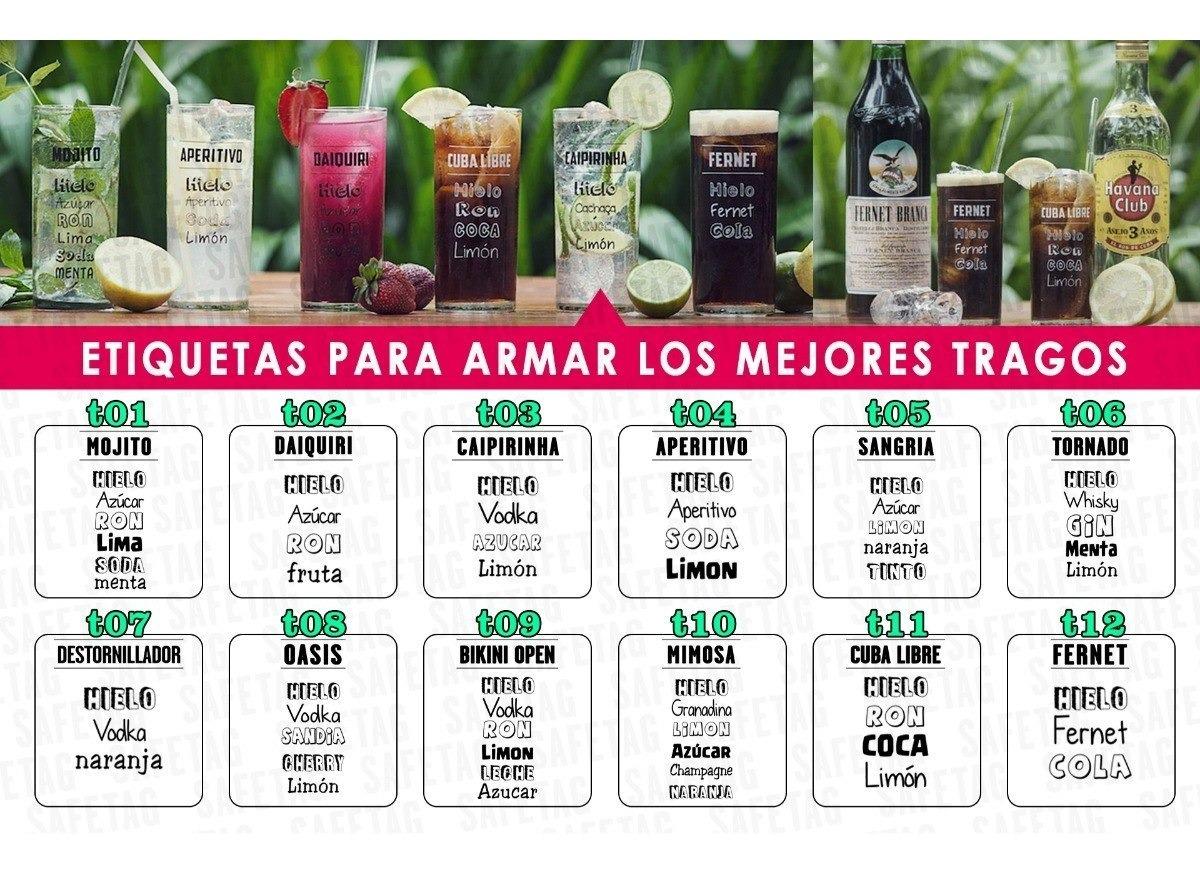 55 Etiquetas Autoadhesivas Frascos Frases Botellas Vasos Troquelados Especiales Formas Resistentes Agua Personalizadas