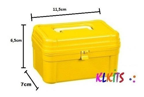55 maletinha baú plástica lembrancinha maleta aniversário pq
