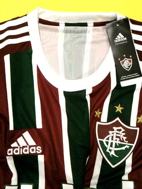 4ef99fb08696e 55% Off! Camisa Fluminense 2014   2015 Oficial adidas - R  119