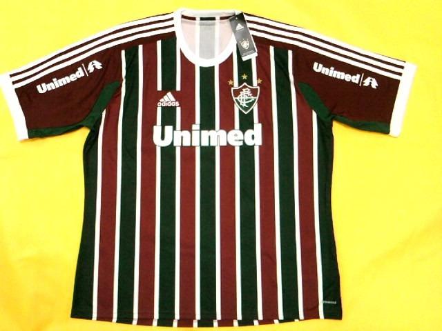 eb8f2d029dc5d 55% Off! Camisa Fluminense 2014   2015 Oficial adidas - R  119