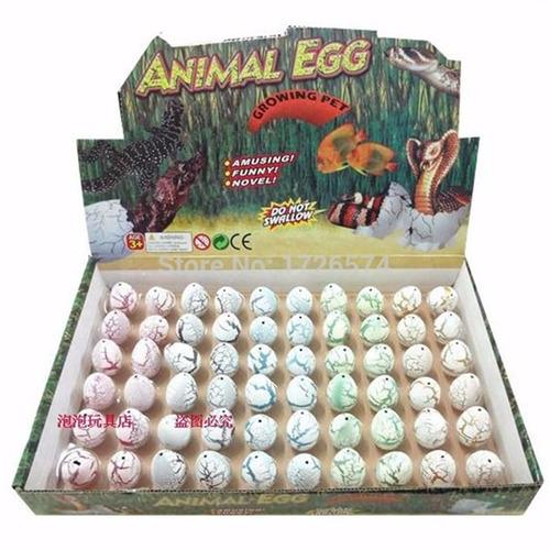 55 ovos animal egg incubação que crescem na água caixa
