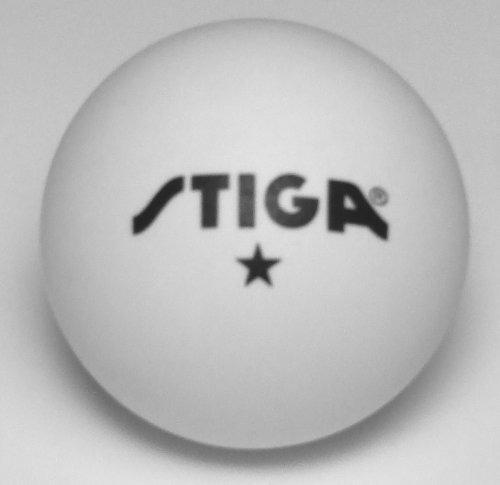 55 pelotas de ping pong tenis de mesa marca stiga 1 estrella